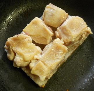 ふわふわフレンチ風親子丼3