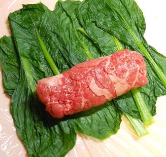 三種の菜肉包みチャーハン8