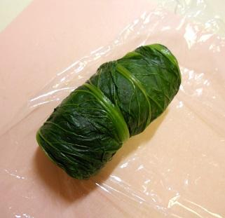 三種の菜肉包みチャーハン9