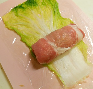 三種の菜肉包みチャーハン12