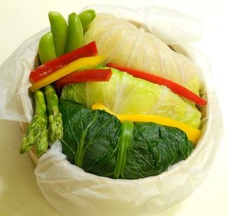 三種の菜肉包みチャーハン18