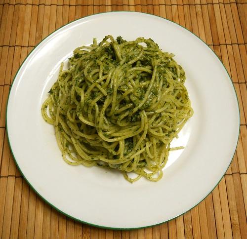 青ジソスパゲティ6