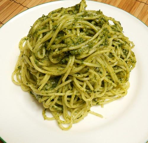 青ジソスパゲティ7