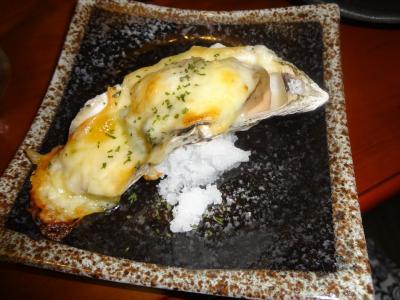 2日夜牡蠣チーズ