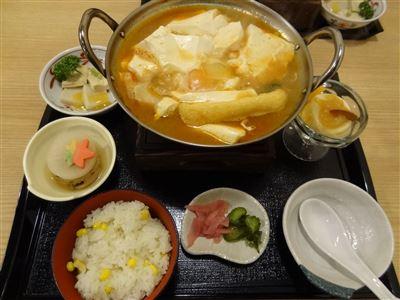 まめ蔵純豆腐御膳