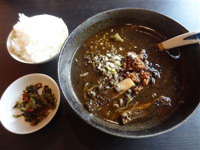 黒担々麺セット