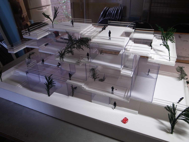 サイコロ建築
