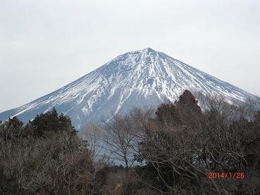 白糸の滝からの富士