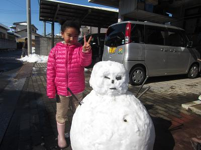 IMG_2181 ⑩雪だるま