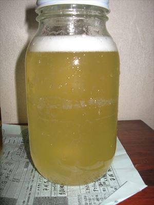 梅酵素ジュース出来上がり 001_R