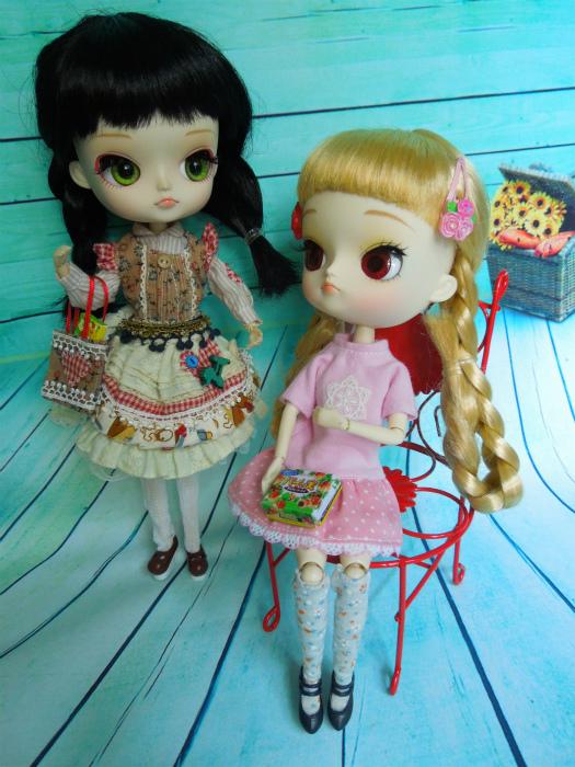 小梅とピンクのワンピ8