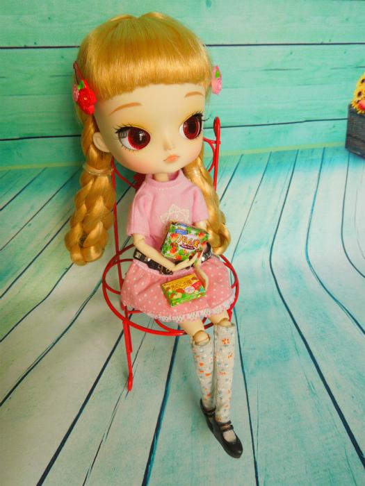 小梅とピンクのワンピ4