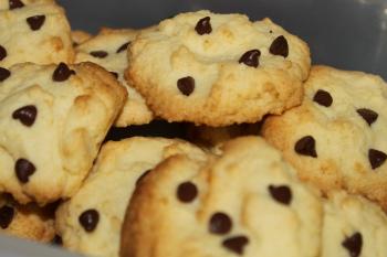 手作りチョコチップクッキー