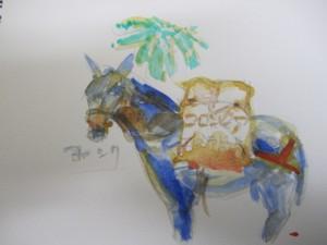 コロンビアの馬