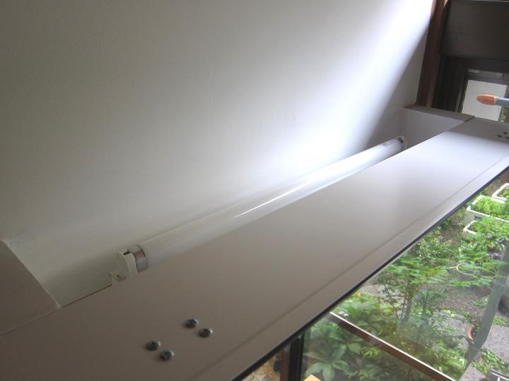 洗面台間接照明
