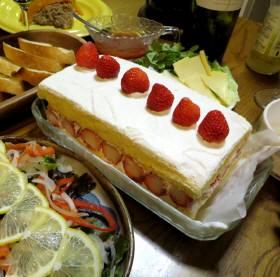 2014_01 27_清・誕生日、ケーキ