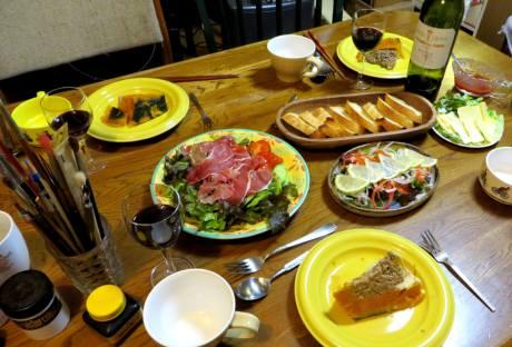 2014_01 27_清・誕生日のテーブル、1