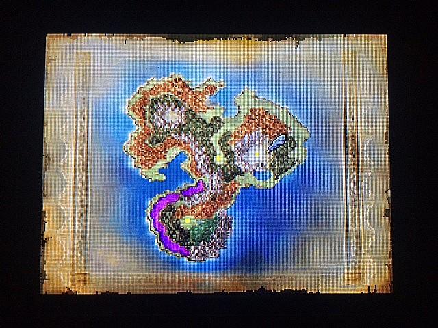 ドラクエ4 北米版 バロンのラッパと地下世界ナディリア2