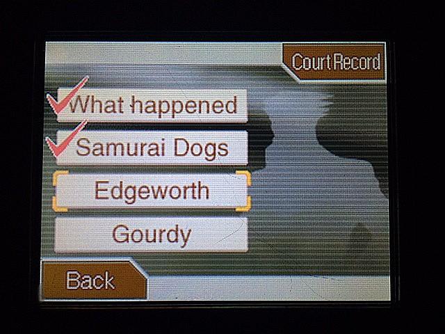 逆転裁判 北米版 ラリーエッジワースについてとゴーディー2