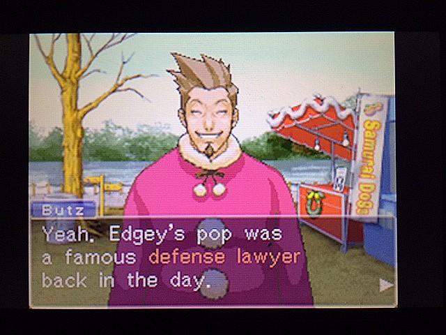 逆転裁判 北米版 ラリーエッジワースについてとゴーディー9