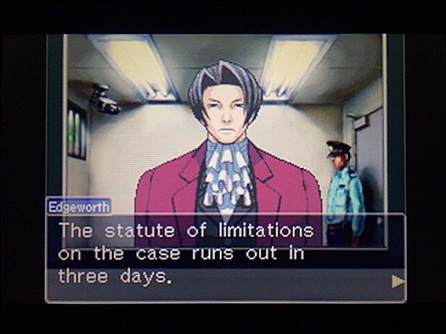 逆転裁判 北米版 エッジワースとDL-6事件24