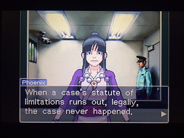 逆転裁判 北米版 エッジワースとDL-6事件27