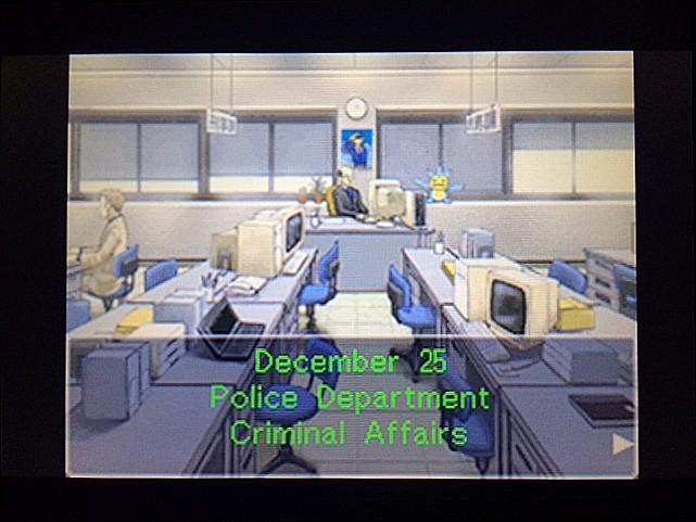 逆転裁判 北米版 警察署への新たな来訪者1