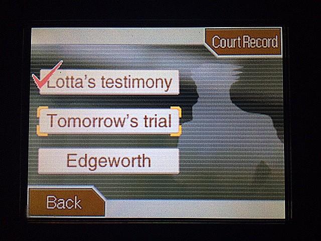 逆転裁判 北米版 マイルズ・エッジワースの弁護人2