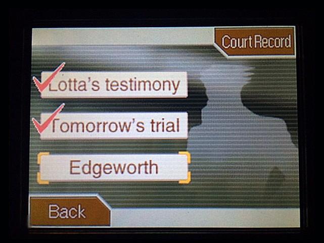 逆転裁判 北米版 マイルズ・エッジワースの弁護人6