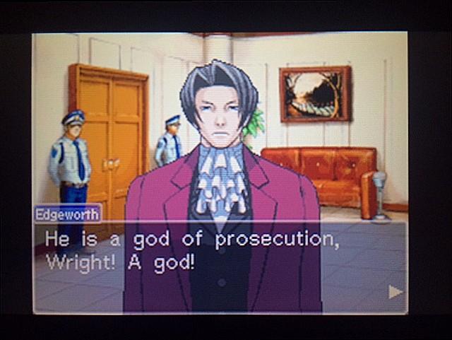 逆転裁判 北米版 審理前被告人控室5
