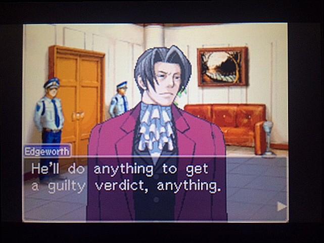逆転裁判 北米版 審理前被告人控室7
