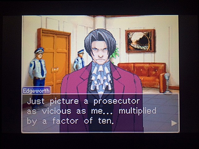 逆転裁判 北米版 審理前被告人控室14