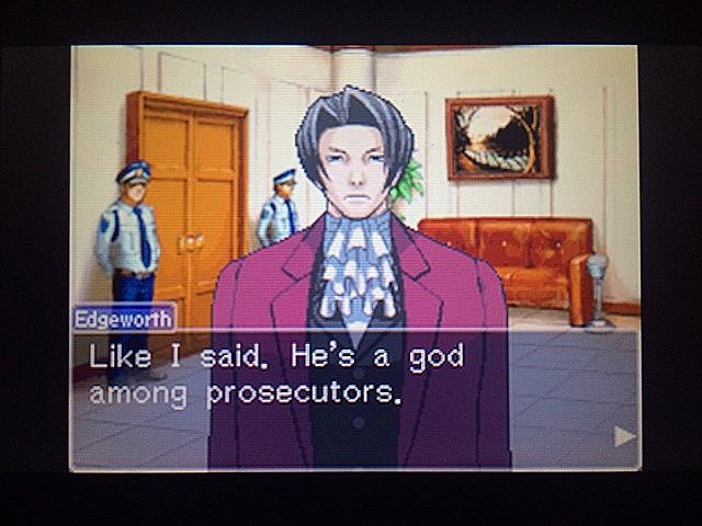 逆転裁判 北米版 審理前被告人控室23