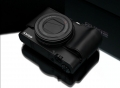 Gariz Leather RX100 M3 HalfCase Black For Sony DCS-RX100III RX100M3 + AG-R2