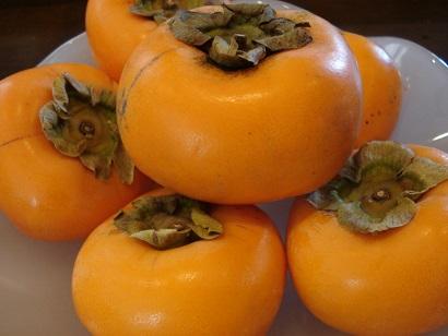 おいしそうな柿です