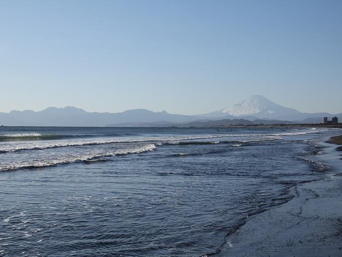 鵠沼海岸の風景