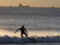湘南海岸で見た冬の蜃気楼「浮島現象」
