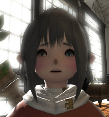 ララ泣き顔