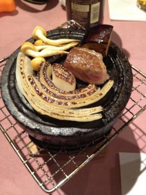 飛騨石焼ステーキ