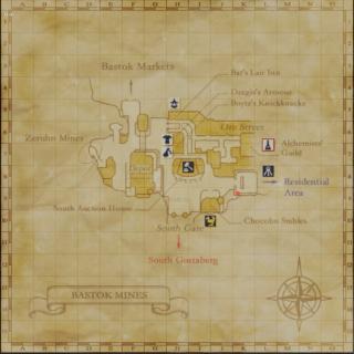 バストゥーク地図