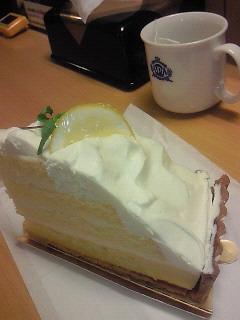 レモンタルトケーキ