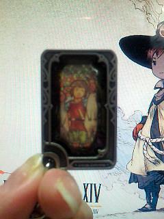 FFXIVストラップのカード部分