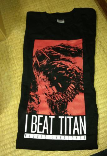 FF14/タイタン・バトルチャレンジTシャツ