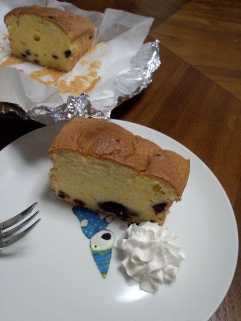ケント姉さんとケーキタイム♪ブルーベリーケーキ