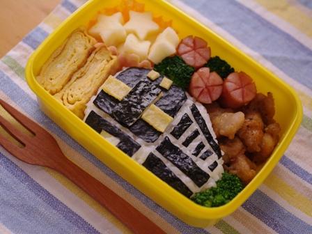 超簡単な電車のお弁当