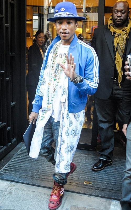 ファレル・ウィリアムス(Pharrell Williams):アディダス(Adidas)/シャネル(CHANEL)/ティンバーランド(Timberland)
