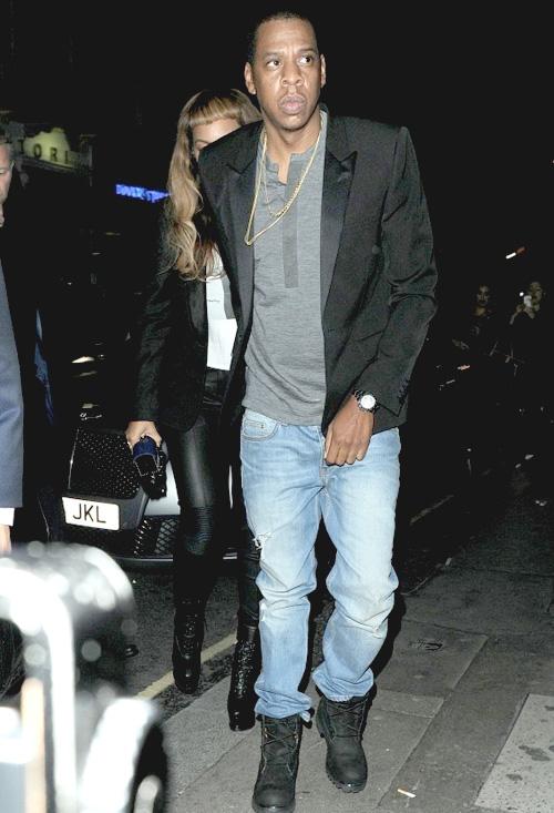 ジェイ・Z(Jay-Z):バレンシアガ(Balenciaga)/ティンバーランド(Timberland)