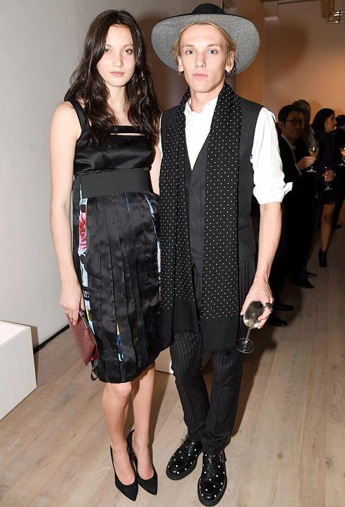 ジェイミー・キャンベル・バウアー(Jamie Campbell Bower):ディオール オム(Dior Homme)