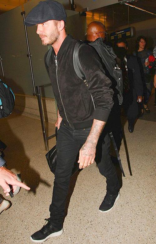 デヴィッド・ベッカム(David Beckham):サンローラン(Saint Laurent)/アディダス(Adidas)