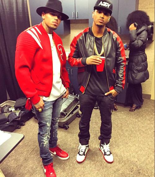 クリス・ブラウン(Chris Brown):ビエリシェ(Vie+Riche)トップマン(Topman)シュプリーム×ナイキエアフォース1(Supreme x NIKE Air Force 1)